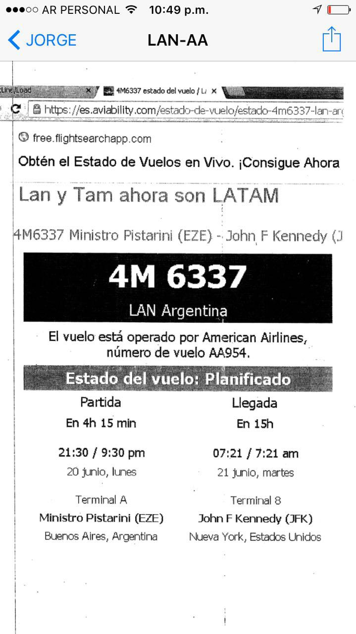 Latam Con American Airlines No Genera Trabajo Argentino